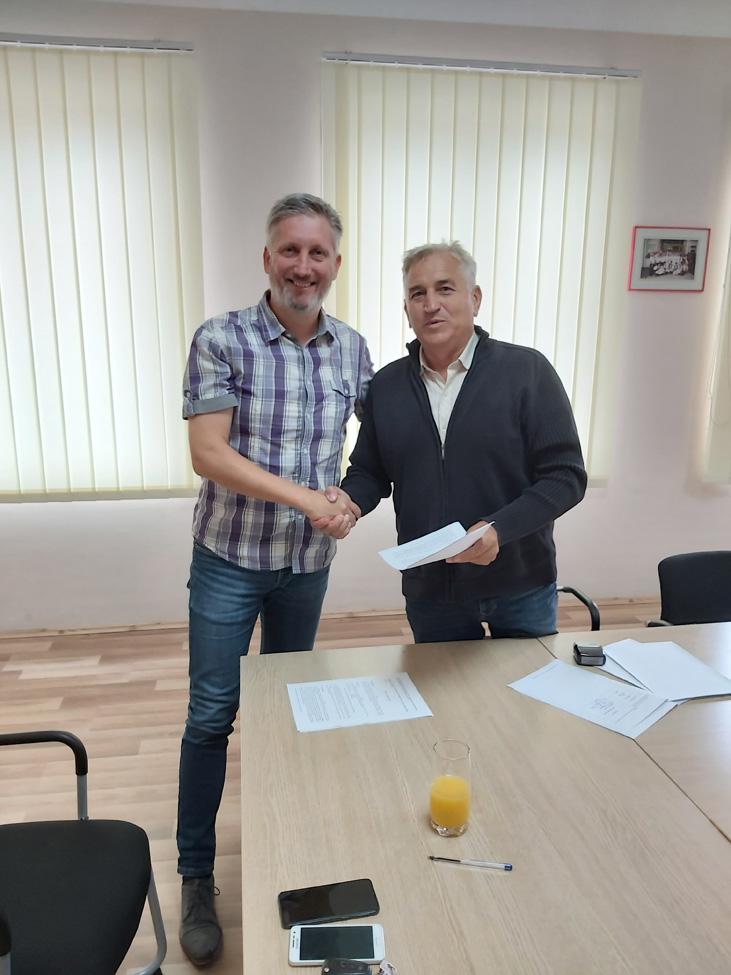 Potpisan Ugovor o izgradnji pješačkog mosta sa prilaznim stazama u Koprivničkim Bregima
