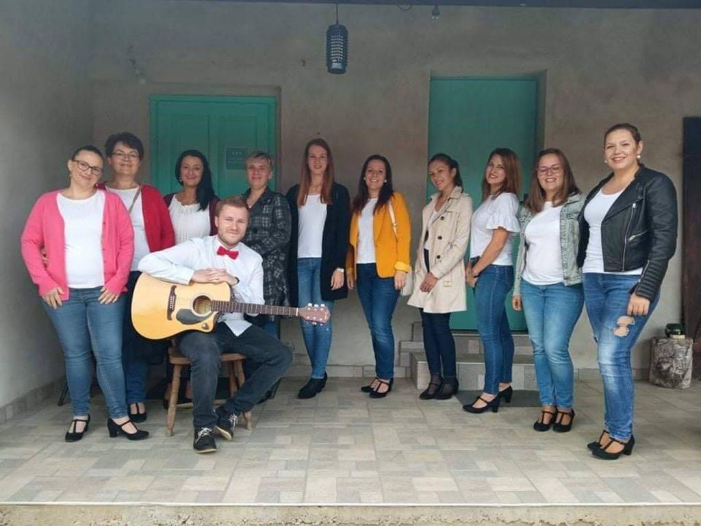 ŽVS Rudarice na otvorenju izložbe u Hlebinama
