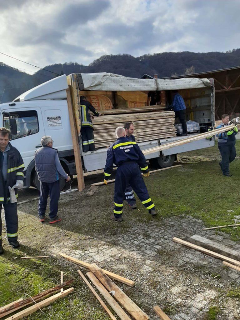 Veliko zajedništvo u osiguranju pomoći za područja pogođena potresom
