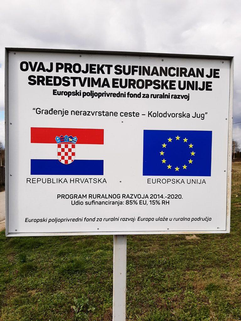 Dobivena građevinska dozvola za izgradnju pješačko-biciklističke staze u Ulici braće Radić u Koprivničkim Bregima